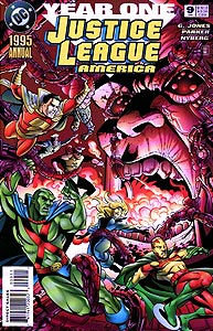 Justice League America Annual 9.  Image Copyright DC Comics