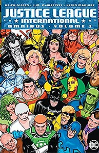 Justice League International Omnibus 1.  Image Copyright DC Comics
