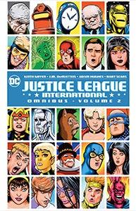 Justice League International Omnibus 1.  Image Copyright DC Comics