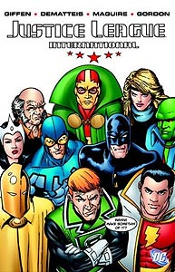 Justice League International Volume 1 1.  Image Copyright DC Comics