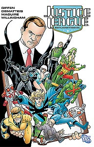 Justice League International Volume 2 1.  Image Copyright DC Comics