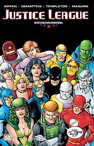 Justice League International Volume 4 1.  Image Copyright DC Comics