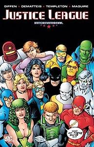 Justice League International Volume 4, Vol. 1, #1. Image © DC Comics