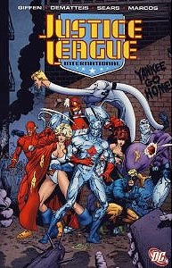 Justice League International Volume 5, Vol. 1, #1. Image © DC Comics