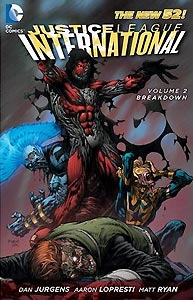 Justice League International Volume 2: Breakdown 1.  Image Copyright DC Comics