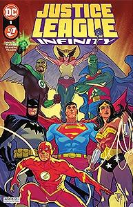 Justice League Infinity, Vol. 1, #1. Image © DC Comics
