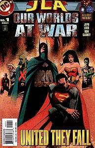JLA: Our Worlds At War 1.  Image Copyright DC Comics