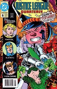 Justice League Quarterly, Vol. 1, #6. Image © DC Comics