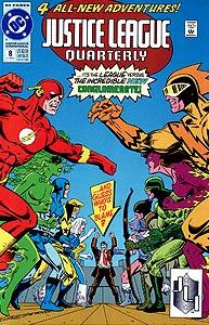 Justice League Quarterly 8.  Image Copyright DC Comics
