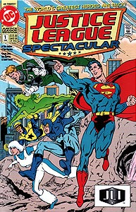 Justice League Spectacular, Vol. 1, #1. Image © DC Comics