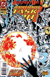 Justice League Task Force, Vol. 1, #14. Image © DC Comics