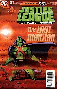 Justice League Unlimited 24.  Image Copyright DC Comics
