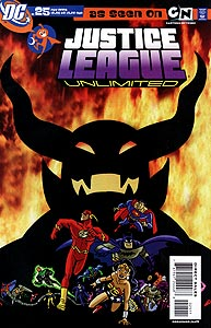 Justice League Unlimited 25.  Image Copyright DC Comics