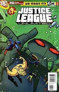 Justice League Unlimited 26.  Image Copyright DC Comics