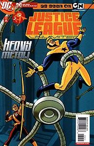 Justice League Unlimited 30.  Image Copyright DC Comics