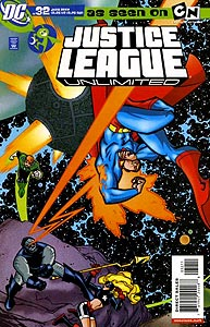 Justice League Unlimited 32.  Image Copyright DC Comics