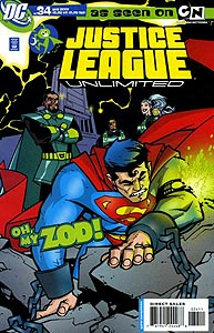 Justice League Unlimited 34.  Image Copyright DC Comics
