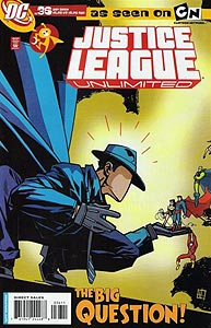 Justice League Unlimited 36.  Image Copyright DC Comics