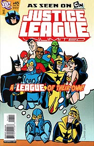 Justice League Unlimited 43.  Image Copyright DC Comics