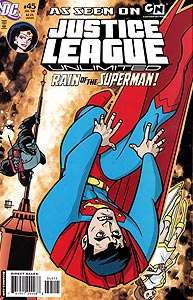 Justice League Unlimited 45.  Image Copyright DC Comics