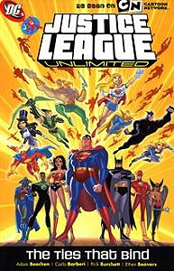 Justice League Unlimited: The Ties That Bind, Vol. 1, #1. Image © DC Comics