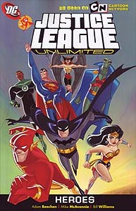 Justice League Unlimited: Heroes, Vol. 1, #1. Image © DC Comics