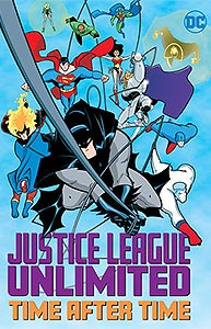 Justice League Unlimited: Time After Time 1.  Image Copyright DC Comics