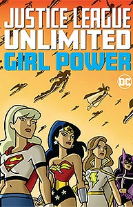 Justice League Unlimited: Girl Power 1.  Image Copyright DC Comics