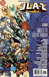 JLA-Z, Vol. 1, #1. Image © DC Comics