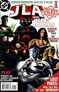 JLA Secret Files, Vol. 1, #1. Image © DC Comics