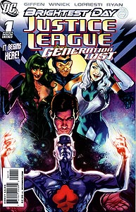 Justice League: Generation Lost, Vol. 1, #1. Image © DC Comics