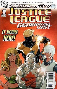 Justice League: Generation Lost 1. Variant Cover Image Copyright DC Comics
