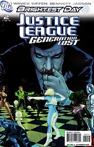 Justice League: Generation Lost 2.  Image Copyright DC Comics