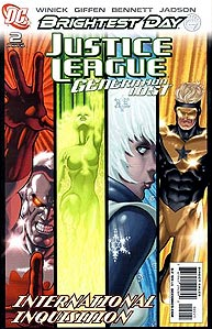 Justice League: Generation Lost 2. Variant Cover Image Copyright DC Comics