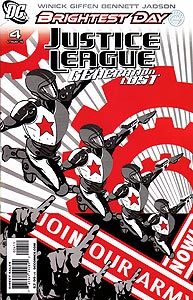 Justice League: Generation Lost, Vol. 1, #4. Image © DC Comics