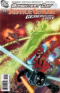 Justice League: Generation Lost 4. Variant Cover Image Copyright DC Comics