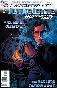 Justice League: Generation Lost 5.  Image Copyright DC Comics