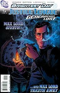 Justice League: Generation Lost, Vol. 1, #5. Image © DC Comics