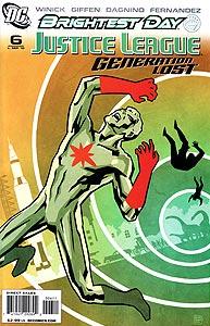 Justice League: Generation Lost, Vol. 1, #6. Image © DC Comics