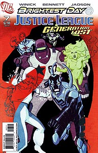 Justice League: Generation Lost, Vol. 1, #7. Image © DC Comics