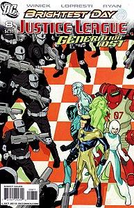 Justice League: Generation Lost 8.  Image Copyright DC Comics