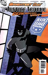 Justice League: Generation Lost, Vol. 1, #10. Image © DC Comics