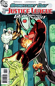 Justice League: Generation Lost, Vol. 1, #11. Image © DC Comics