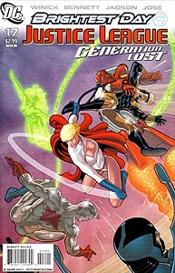 Justice League: Generation Lost 17. Variant Cover Image Copyright DC Comics