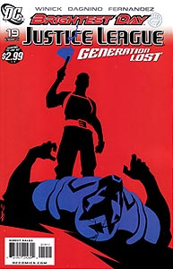 Justice League: Generation Lost, Vol. 1, #19. Image © DC Comics