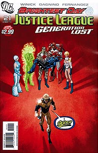 Justice League: Generation Lost 21. Variant Cover Image Copyright DC Comics