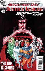 Justice League: Generation Lost 23.  Image Copyright DC Comics