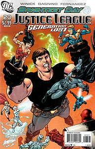 Justice League: Generation Lost 23. Variant Cover Image Copyright DC Comics