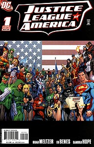 Justice League of America, Vol. 2, #1. Image © DC Comics