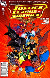 Justice League of America, Vol. 2, #2. Image © DC Comics